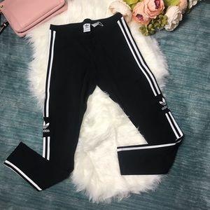 NWT Adidas Black & White Trefoil Tight Legging